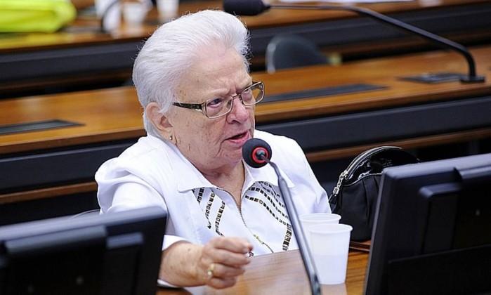 Deputada Erundina se pronuncia na CCJC sobre relatório que salvou Temer da 2° denúncia da PGR